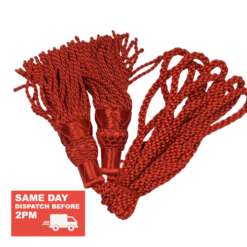 Red Bagpipe Drone Cords