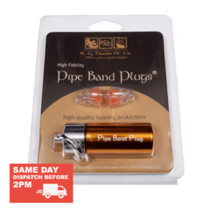 Pipe Band Hearing Protection Ear Plugs by R.G. Hardie