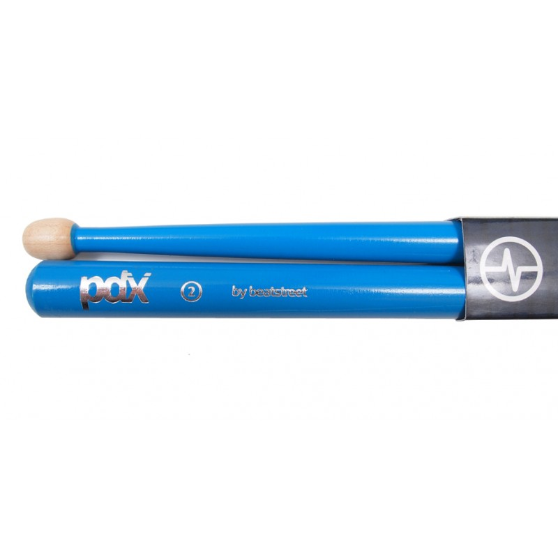 PDX2 Pipe Band Snare Drum Sticks Sky Blue