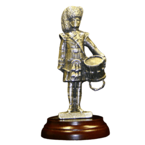 Argyll and Sutherland Highlanders Drummer Figurine