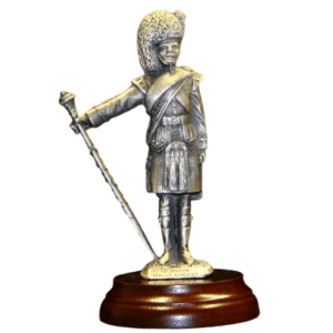 Gordon Highlanders Drum Major Figurine