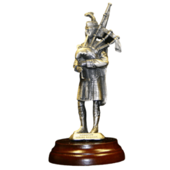 Gordon Highlanders Piper Figurine