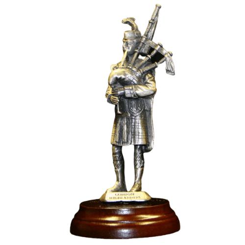 Gordon Highlanders Piper Figurine