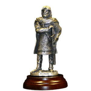 Macbeth Pewter Figurine
