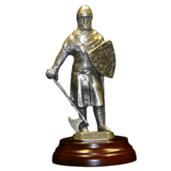 Robert The Bruce Pewter Figurine