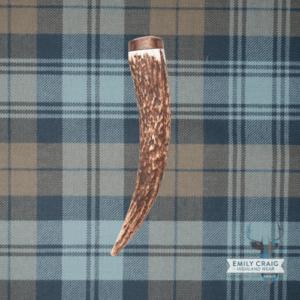 Staghorn with Walnut Kilt Pin