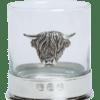 Highland Cow Glass