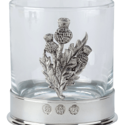 thistle whisky glass